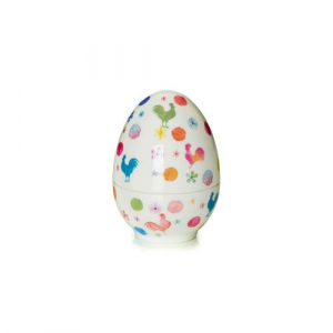 Шкатулка-яйцо декоративное Cock-a-doodle-doo