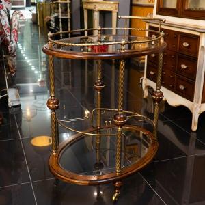 Столик сервировочный на колесиках Capanni