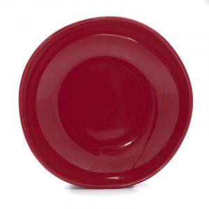 Тарелки для супа красные, набор 6 шт. Ritmo