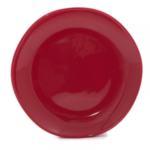 Тарелки десертные красные, набор 6 шт. Ritmo