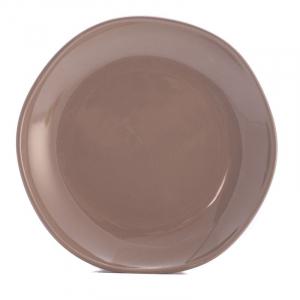 Тарелки десертные коричнево-серые, набор 6 шт. Ritmo