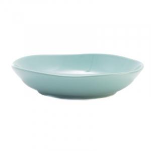 Тарелка для супа Comtesse Milano Ritmo бирюзовая  21 см