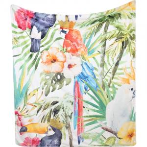 Плед Hoff Interieur Jungle 130×150 см разноцветный