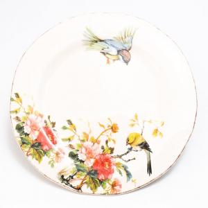 Тарелка обеденная Весна Bizzirri
