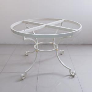 База для круглого стола белая