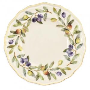"""Тарелки для десерта, набор 6 шт. """"Оливы и маслины"""""""