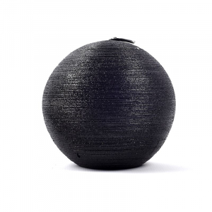 Свеча-сфера черная Maison