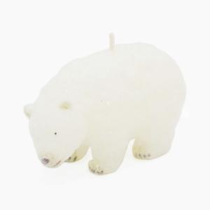 """Свеча """"Белый медвежонок"""""""
