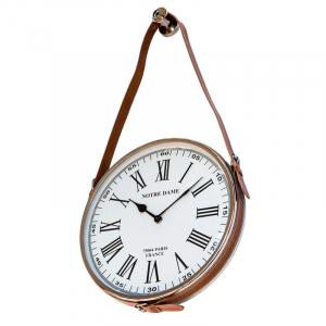 Часы круглые лофт