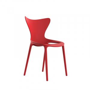 Стул красного цвета в стиле модерн Love