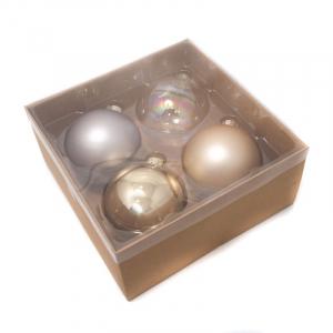 Набор новогодних игрушек-шаров
