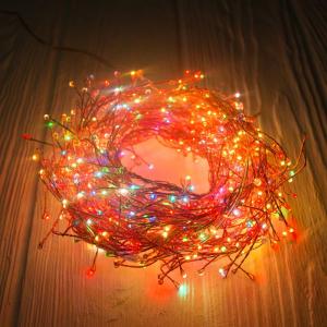 Гирлянда электрическая с led огоньками разных цветов