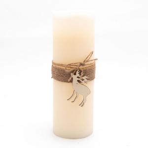 Большая свеча из парафина с LED-подсветкой Mercury