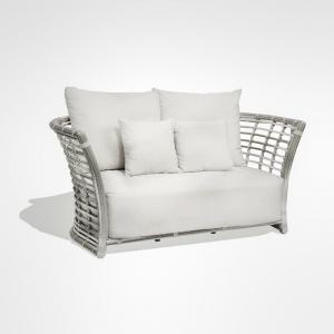 Диван 2-х местный белого цвета Villa Skyline Design