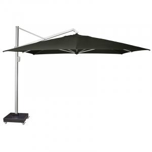 Садовый зонт от солнца Icon premium серо-черный