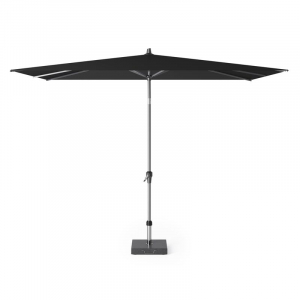 Большой садовый зонт черный Riva