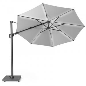 Зонт уличный с подсветкой светло-серый Challenger T2 Glow