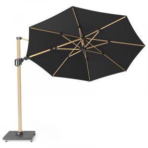 Зонт для сада с двойным наклоном Challenger T2 premium черный