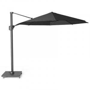 Зонт уличный большой серо-черный Challenger T1 premium