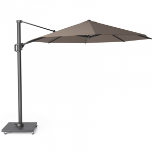 Зонт для сада и террасы цвета гавана Challenger T1