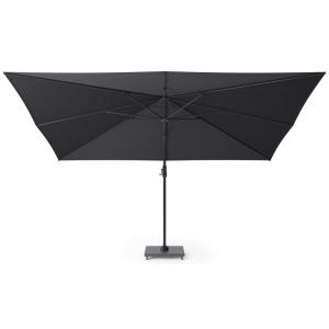 Зонт большой для сада серо-черный Challenger T1 premium