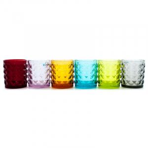 Набор из 6-ти стопок разных цветов Tiffany
