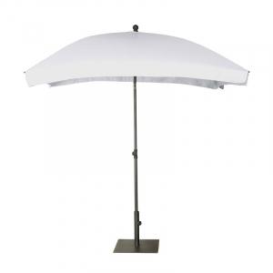 Зонт белый для террасы Aruba