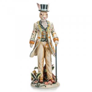 Статуэтка из эксклюзивной пасхальной коллекции ручной работы «Мистер Кролик»