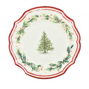 Тарелка обеденная Holly