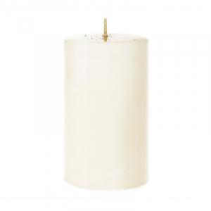 Свеча широкая в форме цилиндра Lucid