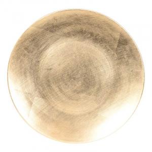 Блюдо декоративное золотого цвета Bastide