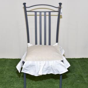 Наволочка для подушки на стул Blanc