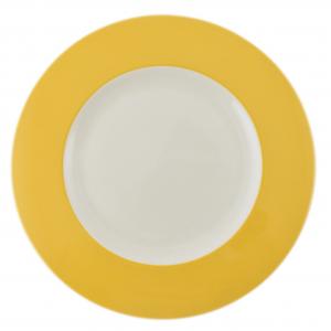 Набор из 6-ти тарелок желто-белых