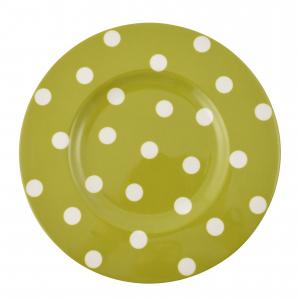 """Набор из 6-ти десертных тарелок """"Горошек"""""""