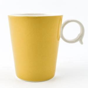 Набор из 6-ти чашек желтого цвета
