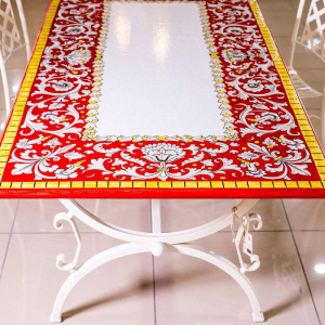 Столешница ручной росписи L´Antica Deruta