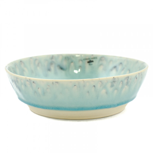 Голубая тарелка для пасты Madeira