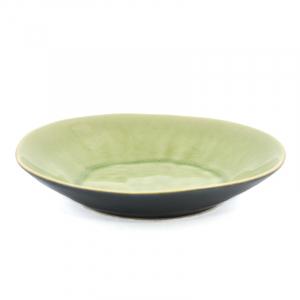 Тарелка для супа светло-зелёная Riviera