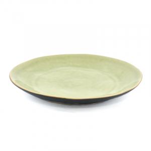 Тарелка для салата светло-зелёная Riviera