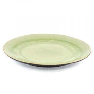 Тарелка обеденная светло-зелёная Riviera