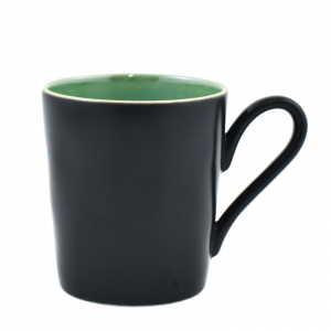 Чашка чёрно-лазурная Riviera