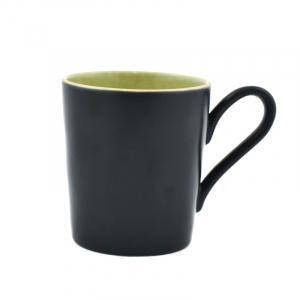 Чашка чёрно-зелёная Riviera
