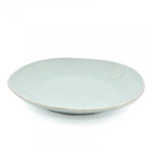 Бирюзовая обеденная тарелка из высокопрочной керамики коллекции Nova