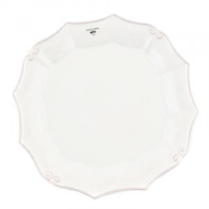 Тарелка белая Barroco