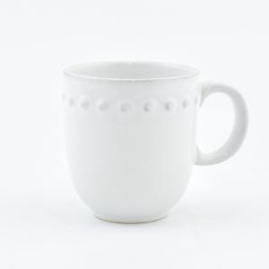 Чашка чайная белая Pearl