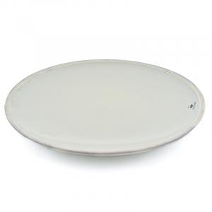 Тарелка обеденная серая Friso
