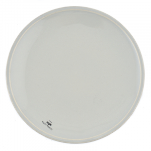 Тарелка мелкая серая Friso