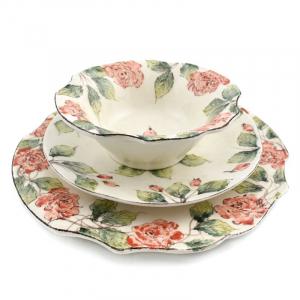 """Комплект тарелок """"Розы"""""""