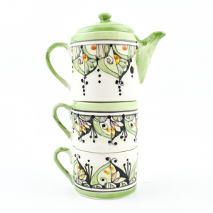 "Набор чайник и 2 чашки ""Абстракция"""