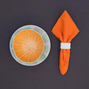 Салфетка столовая ярко-оранжевая